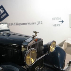 1/24 Hispano Suiza Metal Hood Ornament