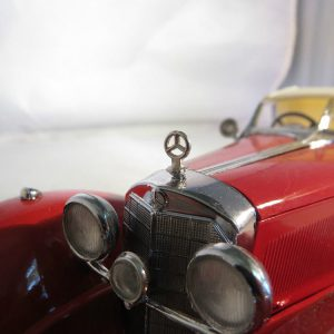 1/24 Mercedes Star Metal Radiator Hood Ornament