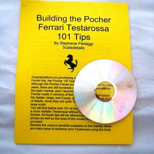 Building The Pocher Ferrari Testarossa Book And CD