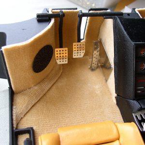 Drilled Aluminum Pedals Transkit