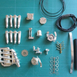 F40 Metal Engine Block Upgrade Kit