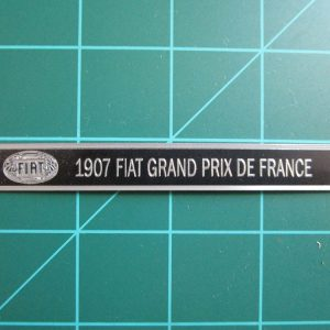 Fiat 1907 Metal Plaque