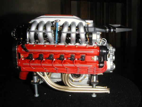 Testarossa full engine transkit