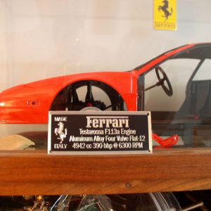 Testarossa Metal Display Plaque