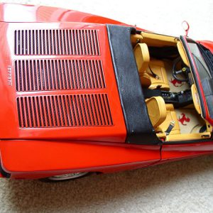 Testarossa Spider Rear Bonnet Grille Kit