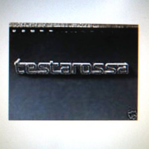 Testarossa Metal Emblem Badge