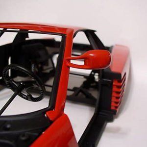 Testarossa Metal Painted Side View Flying Mirror