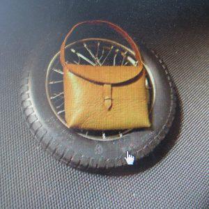 Alfa Romeo Vintage Bag Pouch