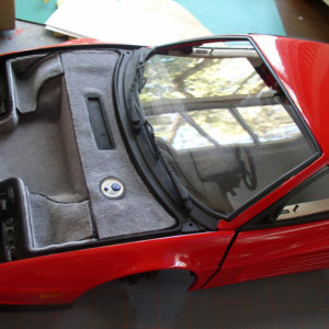 Testarossa Front Carpeting Kit