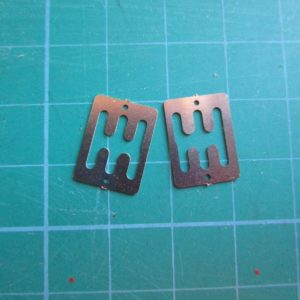 Pocher 1/8 Ferrari Testarossa + F40 Metal Shift Gate (2 Pieces) Lot
