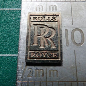 Pocher 1/8 Rolls Royce Metal Radiator Emblem Badge