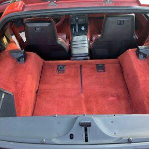 1/8 1985 Chevrolet Corvette Full Interior Carpeting Transkit